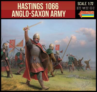 912 - Hastings 1066 Ango-Saxon Army 1/72
