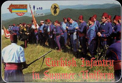 M092 - Turkish Infantry in Summer Uniform 1/72