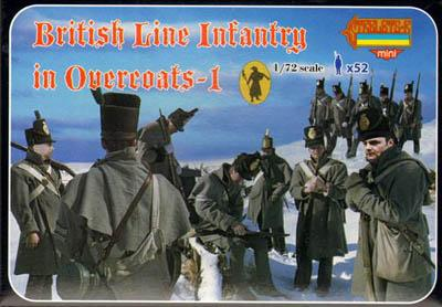M094 - British Line Infantry in Overcoats - 1 1/72