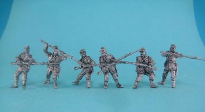 GiM-FCh05 Chasseurs au combat 1/72