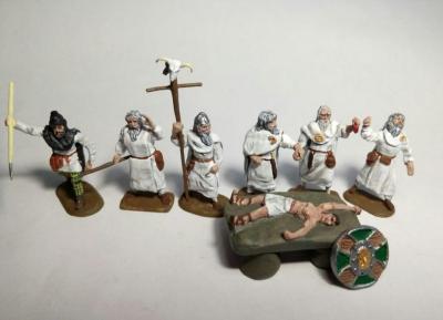 AR36 Druides sacrifiant 1/72