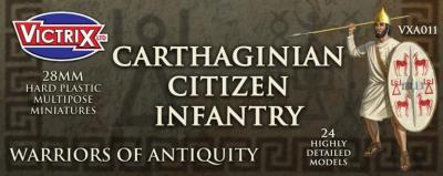 VXA011 28mm Cartaginain Citizen Infantry
