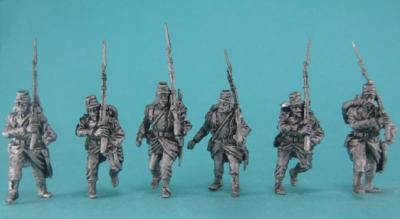 GiM-FLi06 Infanterie de Ligne marche attaque 1/72
