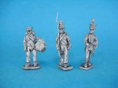 HM-01 Dutch militia, command. 1/72