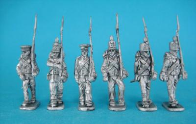 HM-04 Dutch militia, marxhing, troops. 1/72