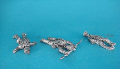 HM-05 Dutch militia, marxhing, casualties. 1/72