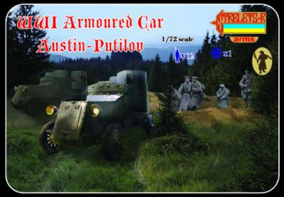 A011 - WWI Armoured Car Austin-Putilov 1/72