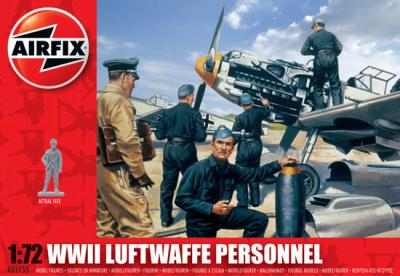 A01755 - Luftwaffe Personnel 1/72