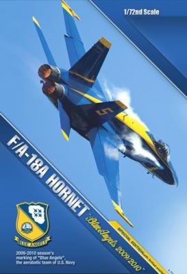 12424 - McDonnell-Douglas F/A-18C Hornet Blue Angels 2009/2010 1/72