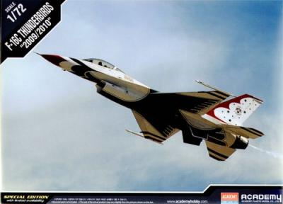 12429 - Lockheed-Martin F-16C Thunderbirds 1/72