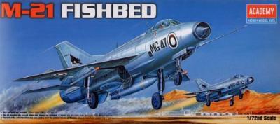 12442 - Mikoyan MiG-21 Fishbed 1/72