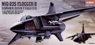 12445 - Mikoyan MiG-23S Flogger 1/72