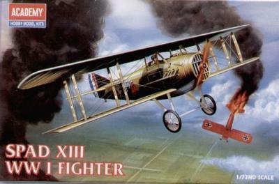 12446 - Spad XIII Italian WWI 1/72