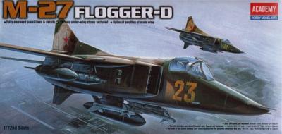 12455 - Mikoyan MiG-27 Flogger 1/72