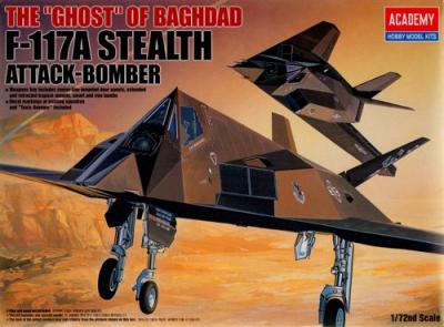 12475 - Lockheed F-117A Stealth Fighter 1/72
