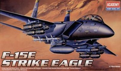 12478 - McDonnell F-15E Strike Eagle 1/72