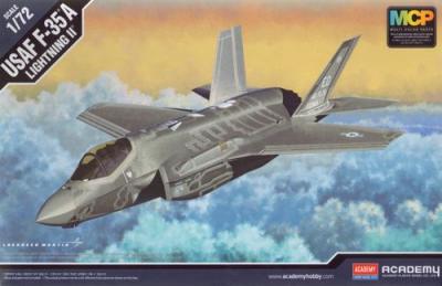 12507 - Lockheed-Martin F-35A Lightning II USAF 1/72