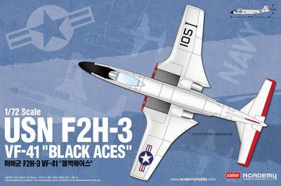 12548 - McDonnell F2H-3 Banshee USN VF-41