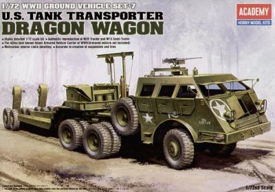13409 - WWII M26 Dragon Wagon 1/72