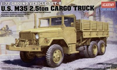 13410 - US M35 2.5ton Cargo Truck 1/72