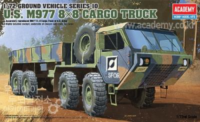 13412 - M997 Oshkosh 8x8 Cargo truck 1/72