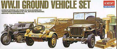 13416 - WWII vehicle set 1/72