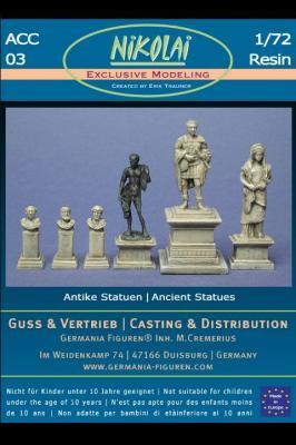 NIK-ACC 03 - Antiken Statuen, Denkmaeler 1/72