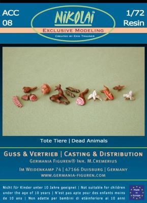 NIK-ACC 08 - Tote Tiere, Fleisch 1/72