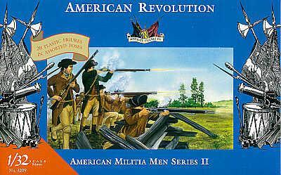 3209 - American Militiamen-American