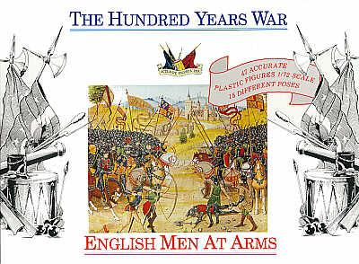 7206 - English men at Arms 1400AD 1/72