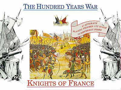 7207 - French Knights 1400 AD 1/72