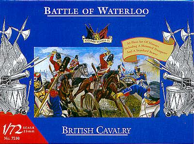 7210 - Waterloo British Cavalry 1/72