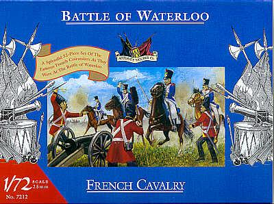 7212 - Waterloo French Cavalry 1/72