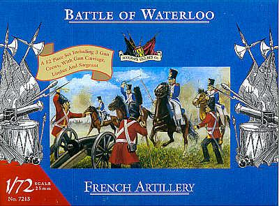 7213 - Waterloo French Artillery 1/72