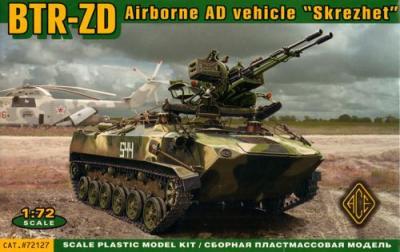 72127 - Russian BTR-D + ZU-23-2 1/72