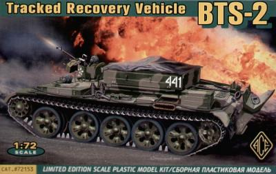 72153 - BTS-2 Armoured Recovery Vehicle 1/72