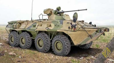 72172 - BTR-80A Soviet armored personnel carrier 1/72