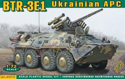 72175 - BTR-3E1 Ukrainian armored personnel carrier 1/72