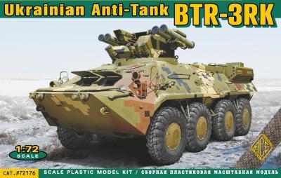 72176 - Soviet BTR-3RK AT APC 1/72