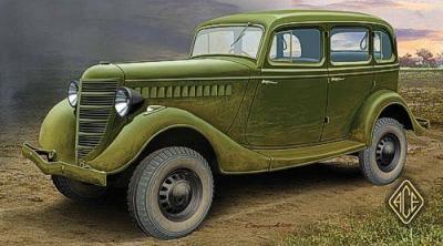 72213 - Russian GAZ-61-73 4 x 4 1/72
