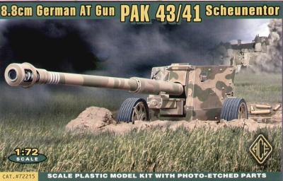 72215 - Scheuntor PaK-43/41 88 Anti tank gun 1/72