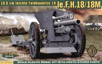 72216 - le FH18 10,5 cm Field Howitzer 1/72