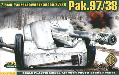 7223 - Pak-97/38 - 7,5 cm Panzerabwehrkanone 97/38 1/72