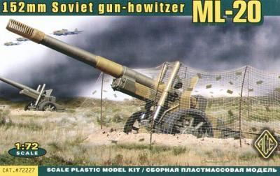 72227 - ML-20 Soviet howitzer WWII 1/72