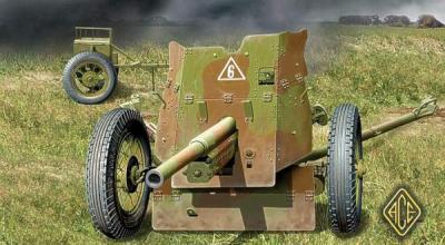 72242 - Russian 45mm Anti-Tank gun 1/72