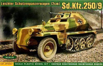 72247 - German Sd.Kfz.250/9 1/72