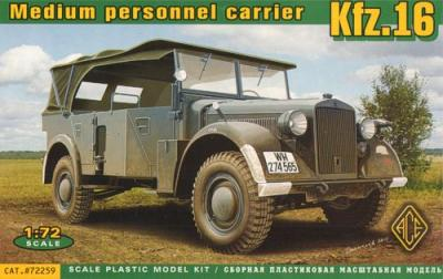 72259 - Kfz.16 - uniform chassis medium signals car 1/72
