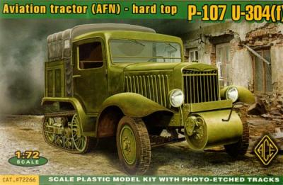 72266 - P-107 Aviation Tracto (AFN) hard top 1/72