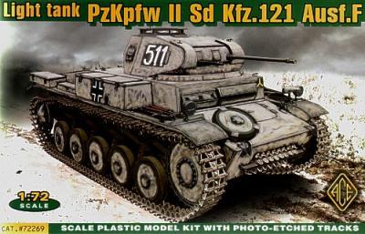 72269 - Pz.Kpfw.II Ausf.F Sd.Kfz.121 1/72