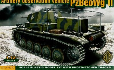72270 - Pz.Beo.Wg II German artillery observation vehicle 1/72